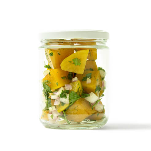 Herb Marinated Golden Beets